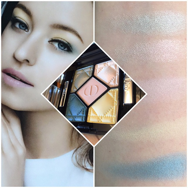 Dior 5 Couleurs Palette 346 Pastel Breeze