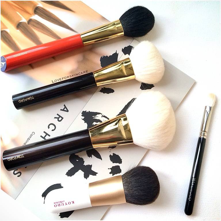 Go-tos Makeup Brushes