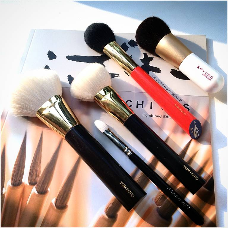Tom Ford, Hakuhodo and Koyudo Makeup Brushes