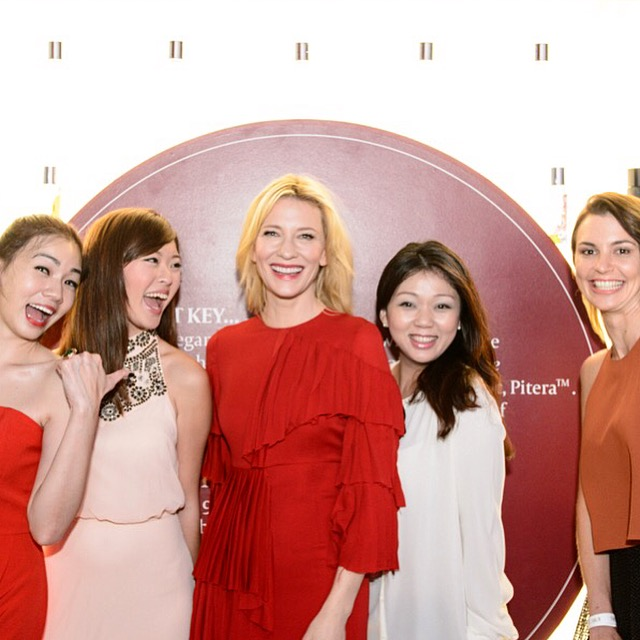 Cate Blanchett SKII Press @SG Fashion Week