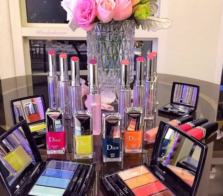 Dior Spring 2017 Colour Gradation Collection